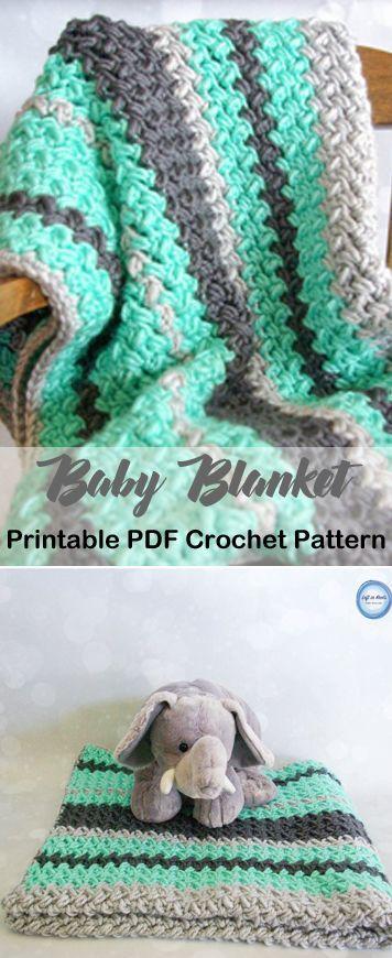 Make A Cozy Baby Blanket Blanket Crochet Pattern Afghan Crochet Pattern Pdf Amor Crochet Blanket Patterns Baby Blanket Crochet Pattern Boy Crochet Patterns