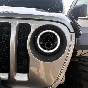 Jl 9 Hd Headlights Tempest Jeep Jl Jeep Headlamp Design