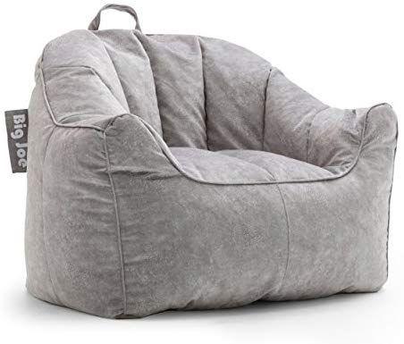 Amazon Com Big Joe Aloha Chair Ash Kitchen Dining Bean Bag Chair Comfy Chairs Big Comfy Chair