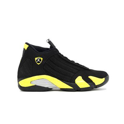 Cheap Air Jordan 14 Retro Black & University Blue 311832 041