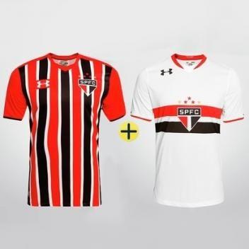 Simpático abrazo pedir disculpas  Kit 2 Camisas Branca + Listrada Sao Paulo Under Armour 2016 - Magazine  Edmilsonzerosete | Under armour, Camisa branca, Camisa