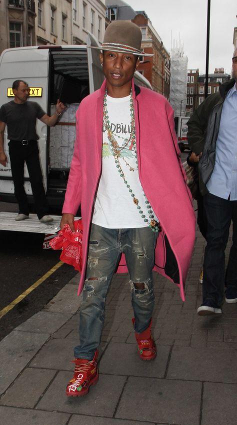 Pharrell Williams - best style always...