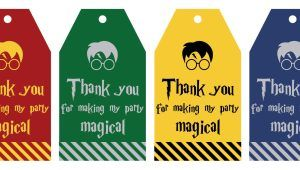 Free Printable Harry Potter Gift Tags On A Scale Of 1 To 10 This
