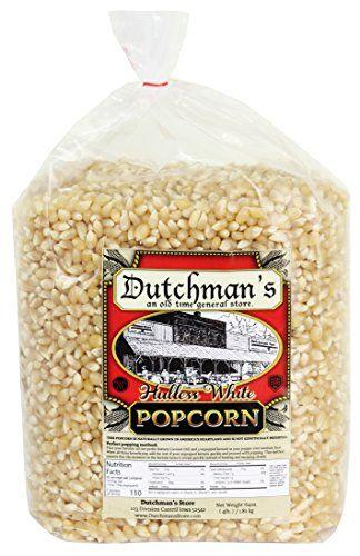 medium hulless white popcorn kernels