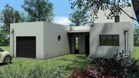 22 best maisons toit plat images on Pinterest Mobile home, Mobile - maison bois en kit toit plat