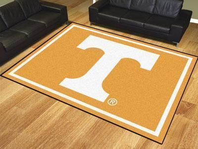 Ncaa Tennessee 8 X10 Plush Rug Rugs Rugs On Carpet Area Rugs