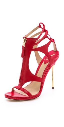 #webwant DDGDaily's editor's shopping list! B Brian Atwood Zip Front Sandals