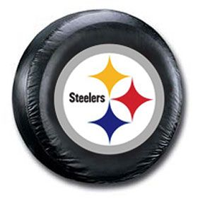 Pittsburgh Steelers Black Logo Tire Cover Nfl Car Pittsburgh
