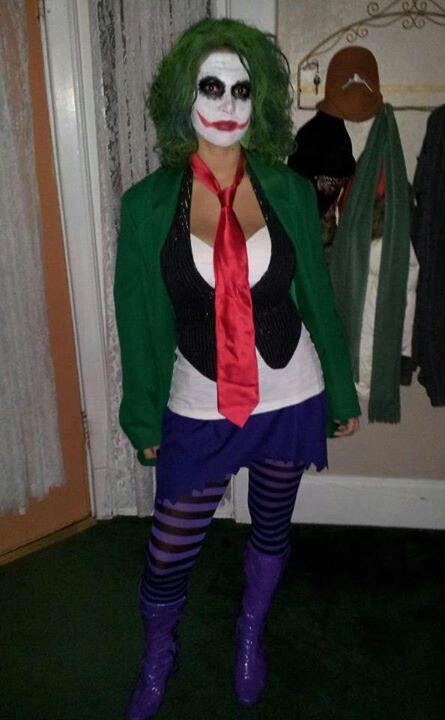 Joker halloween costume | Halloween fun | Pinterest | Joker ...