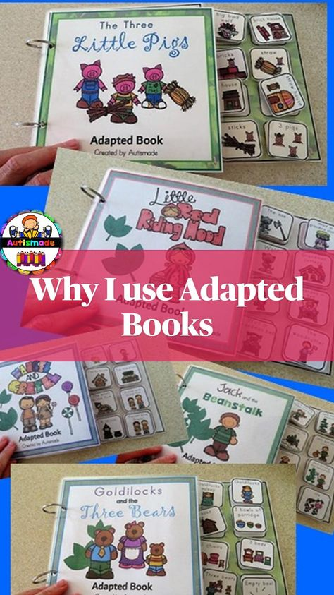 Adapted Books in Preschool & Special Education
