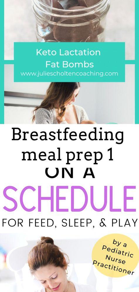 Breastfeeding meal prep 1