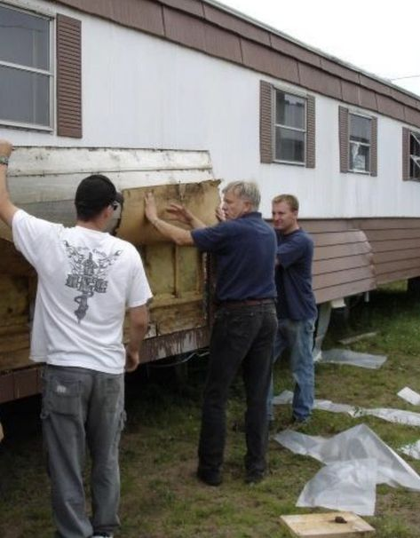 Learn How To Install New Mobile Home Insulation Mobile Home Repair