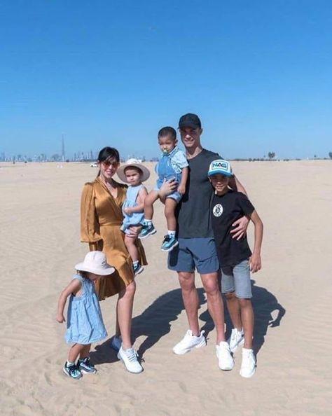 Merry Christmas From Cristiano Ronaldo S Family