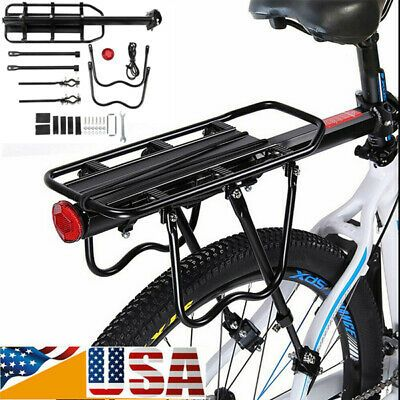 Details About Bike Bicycle Quick Release Carrier Rear Rack Fender