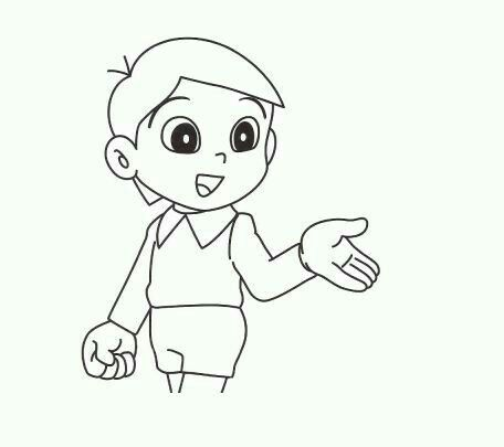 Pin By Nobita On Nobita Coloring Pages Doraemon Color