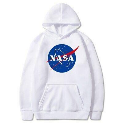 NASA Hoodie Pullover  Sweaters Hoodies Men/&Women Tops Unisex Sweatshirts Outwear