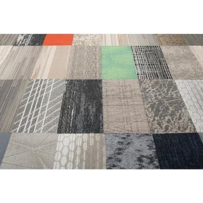 Versatile Assorted Pattern Commercial Peel And Stick 9 In X 36 In Carpet Tile Plank 12 Til Carpet Tiles Textured Carpet Carpet Trends