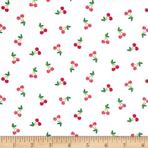 free p/&p, half meter Makower Good life garden fruit trees 100/% cotton fabric
