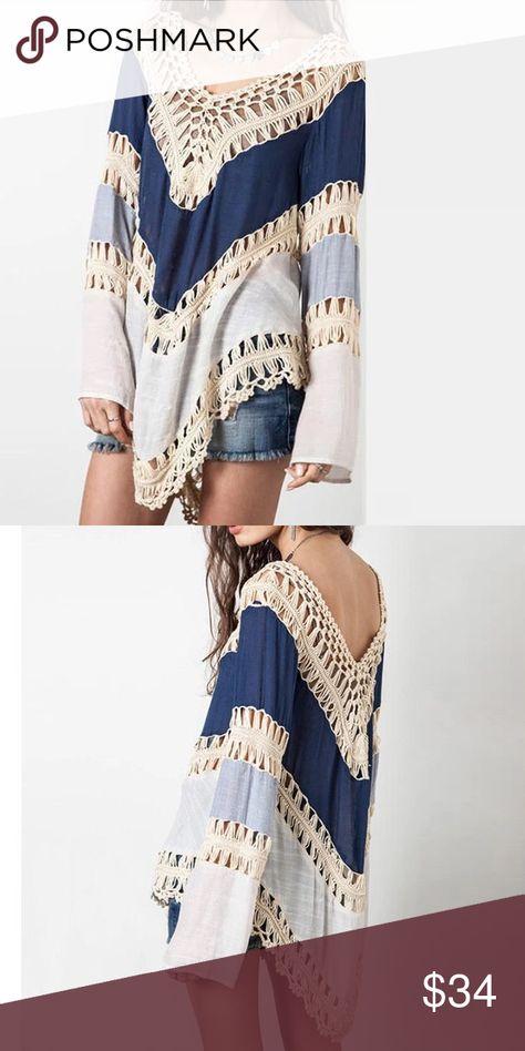 Bohemian Print Elastic Waist Irregular Long Beach Skirt