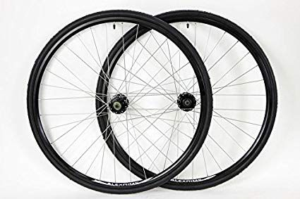 700c Alex Disc Brake Rim Brake Road Hybrid Cross Bike Wheel Set