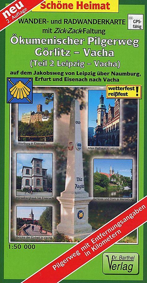 Doktor Barthel Karte Okumenischer Pilgerweg Gorlitz Vacha Karte