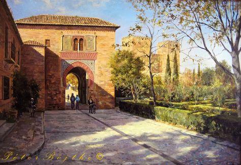 Pintura Peter Bojthe