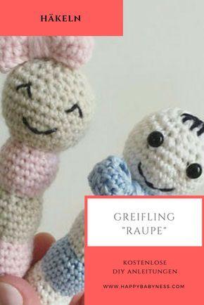 Einfachen Baby Greifling häkeln - premium & kostenlose Anleitungen ... | 434x290