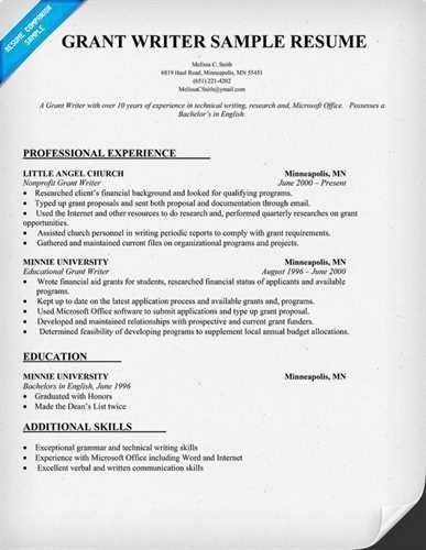 Grant Writing Resume Sample Wonderful Grant Writing Resume Sample Grant Writer Resume Now That Youv In 2020 Resume Examples Job Resume Samples Firefighter Resume