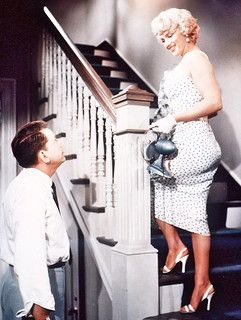 Marilyn Monroe And Tom Ewell The Seven Year Itch 1955 Marilyn Monroe Marilyn Classic Hollywood