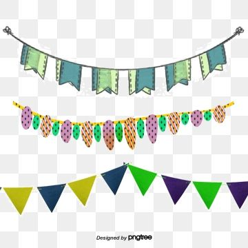 Flattened Festival Flag Vector Colour Pull The Flag Birthday Party Decorations Png Transparent Clipart Image And Psd File For Free Download Birthday Party Decorations Flag Decor Flag Vector