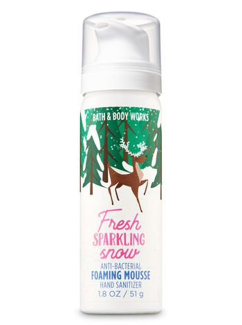 Fresh Sparkling Snow Foaming Hand Sanitizer Bath And Body Works