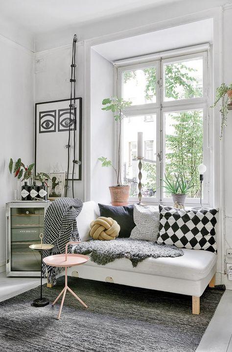 Shop the look: frisse & hippe slaapkamer | Sala de estar | Pinterest ...