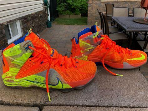 wholesale dealer a36f1 eedc0 Nike LeBron 12 Six Meridians  fashion  athleticshoes