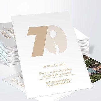 Einladungskarten 70 Geburtstag Selbst Gestalten Einladungen