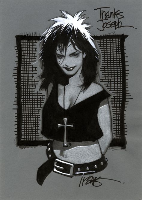 SKETCHES / COMMISSIONS — TRAVIS CHAREST ART