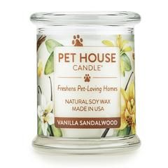 Vanilla Sandalwood Candle Dogs Candles Sandalwood Candles Home Candles Natural Soy Wax Candles