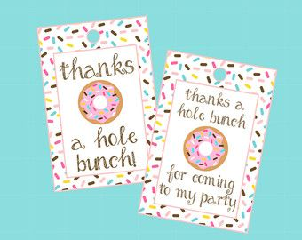 party favor tag