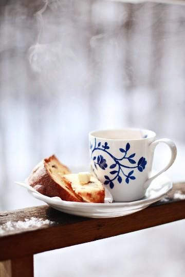 coffee break...perfect on a cool morning!