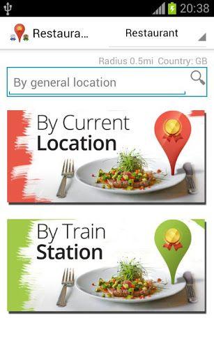 Restaurant Finder Google Zoeken