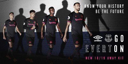 new product 2c857 c39ee Everton 2018/2019 Away Kit. | Latest Football Kits ...