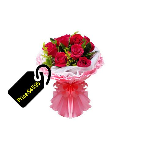 Getting Much Of Its Demand From The People In Burning Love Red Rose Is The Symbol Of Love This Insignia Online Flower Shop Valentines Flowers Flower Delivery