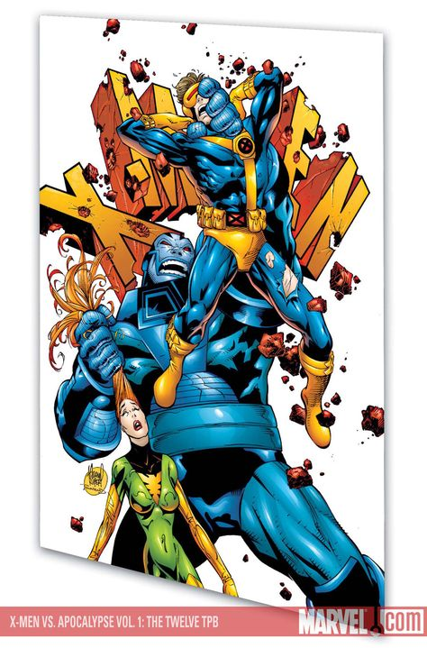 X Men Vs Apocalypse By Adam Kubert Man Vs Comics X Men