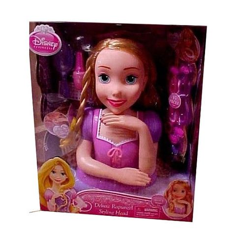 Disney Princess Rapunzel Styling Head Just Play Toys R Us Disney Princess Rapunzel Princess Rapunzel Disney Princess