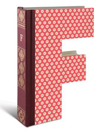 Look What I Found On Zulily F Alphabook Zulilyfinds Book Decor Lettering Fonts Letter F