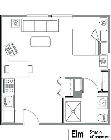 Studio Floor Plans 400 Sq Ft Pdf