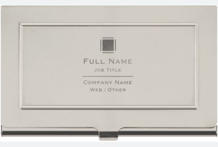 Vistaprint Business Card Holders Metal Business Cards Personalized Card Holder