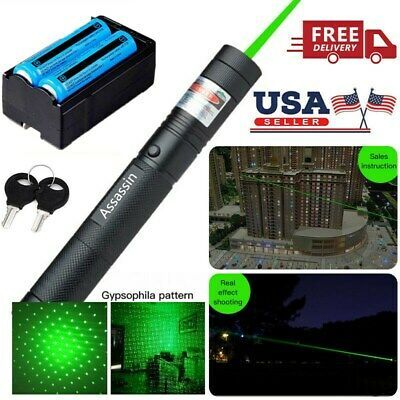 Sponsored Ebay Astronomy 900miles Green Laser Pointer 532nm Visible Beam Star Cap 18650 Charger In 2020 Green Laser Pointer Green Laser Laser Pointer