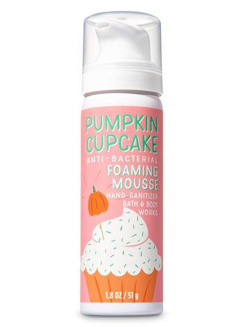 5 50 Pumpkin Cupcake Foaming Hand Sanitizer Bath And Body Works