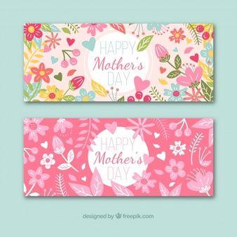 Descarga Gratis Banners Feliz Dia De La Madre Con Imagenes