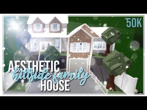 Roblox Bloxburg House 45k Tutorial 1 Story 70 Best Bloxburg House Ideas In 2020 Modern Family House Building A House Home Building Design